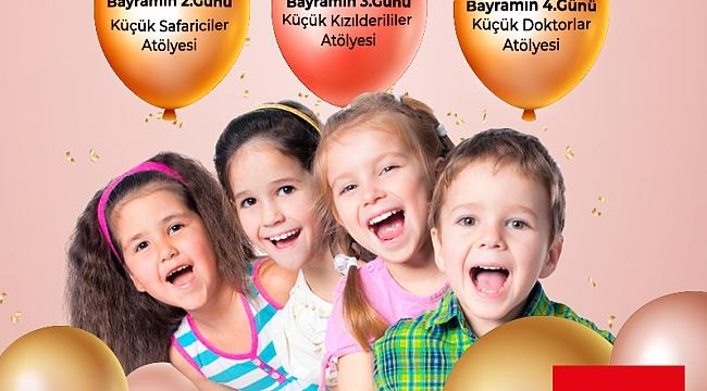 Agora Alışveriş Merkezi'nden Çocuklara Özel Bayram Etkinlikleri