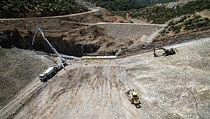 İzmir Musacalı Barajı'nda Gövde Dolgusuna Başlandı