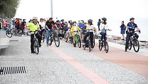 İzmir Hızla Bisiklet Kenti Olma Yolunda İlerliyor