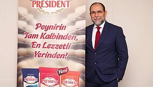 Avrupa'nın Peynir Ustası Président, Türkiye Pazarına Girdi