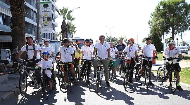 İzmir'in ilk Bisiklet Festivali Karşıyaka'da
