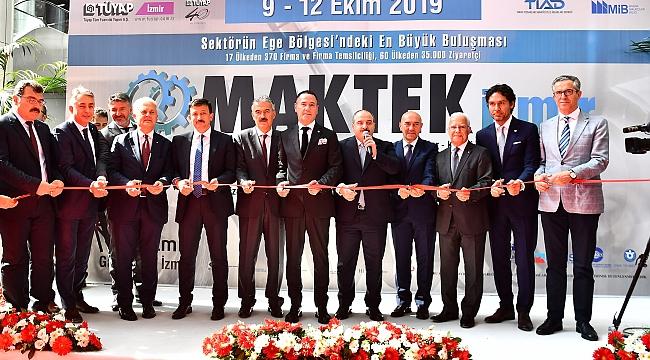 Maktek Fuarı 19 Ülkeden 370 Firmayı İzmir'de Buluşturdu