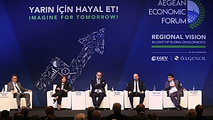Ege Ekonomik Forumu'nda Teknoloji ve Arge Konuşuldu