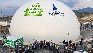 Harmandalı'nda Çöpten Elektrik Enerjisi Üretecek Tesis Açıldı