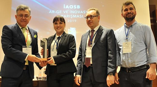 İAOSB Ar-Ge Yarışması'nın Kazananı DYO Oldu