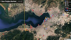 İzmir'in Kent Suçları Haritası ve Listesi