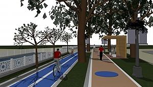 Narlıdere'ye 2 Kilometrelik Bisiklet Ve Yaya Yolu Projesi