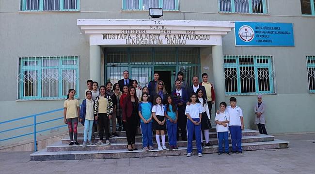 Öğrenciler Ürettiler, Kazandılar, Okula Bağışladılar