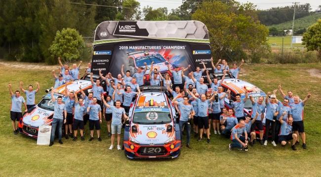 Türkiye'de Üretilen Hyundai i20 Dünya Ralli Şampiyonu Oldu