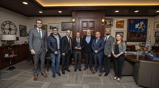 Avrupa Türk İşadamları Ve Sanayicileri Derneği İzmir Ziyareti Gerçekleşti