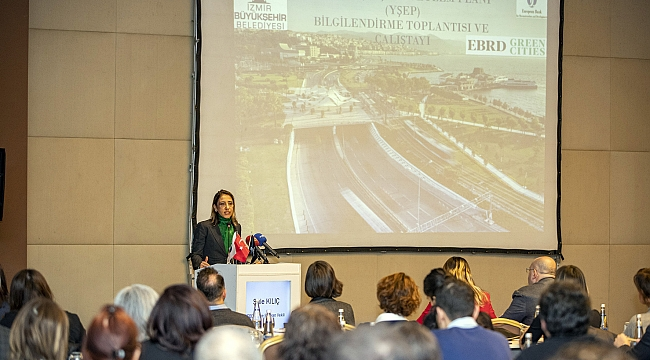 İzmir'in Yeşil Eylem Planına Maddi Destek