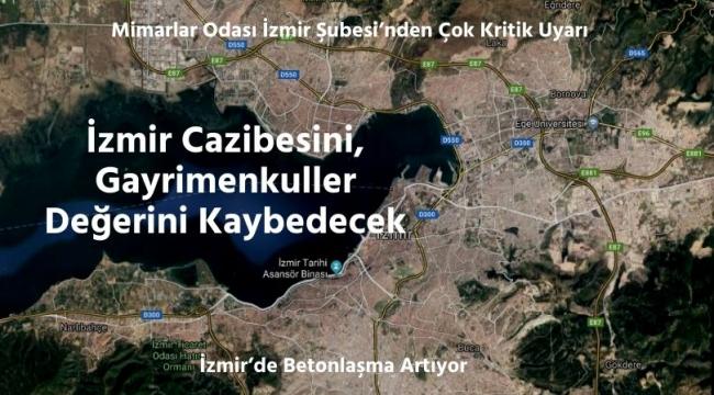 İzmir Cazibesini, Gayrimenkuller Değerini Kaybedecek