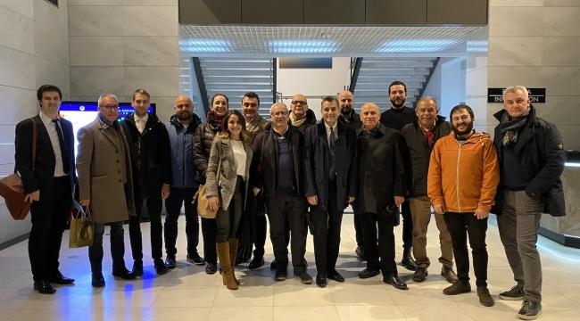 İtalyan Mobilyacılar, İzmir'in Kapasitesini Görmeye Geldi