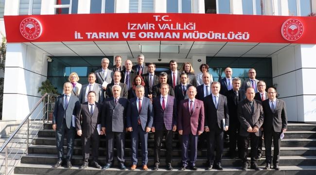 İzmir Tarımında Güç Birliği
