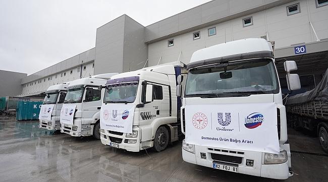 Unilever Türkiye'den Domestos Çamaşır Suyu Bağışı