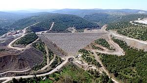 İzmir Musacalı Barajının Gövdesi Tamamlandı