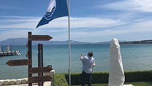 Boyalık Beach Mavi Bayrakla Açıldı