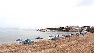 Karaburun Plajları Yaz Sezonuna Hazırlandı