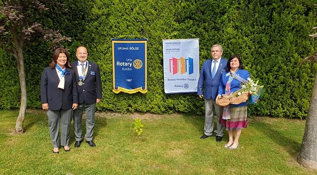 Urla Rotary'de Devir Teslim