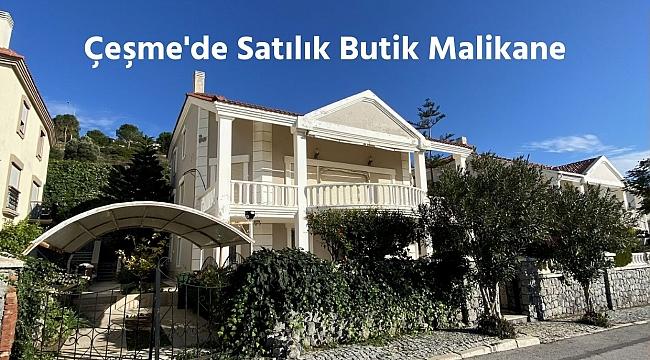 Çeşme'de Marina Yakını Satılık Villa