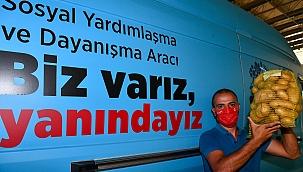 İzmir'de Üreticiyi Destekleme Alımları