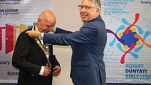 Rotary'de Ertan Soydan Dönemi Başladı