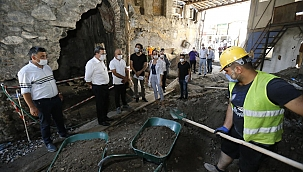 Basmane'de Tarihi Yapılar Görünür Olacak