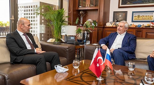Rusya-Türkiye İş Konseyi İzmir'de