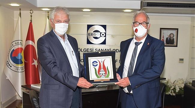 Almanya ve İzmir Arasında Ticari Faaliyetler Artacak