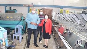 Karaburun Zeytinyağı Fabrikasında Üretim Başladı