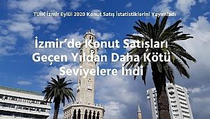 TÜİK İzmir Eylül 2020 Konut Satış İstatistiklerini Yayımladı