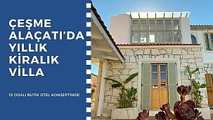 Alaçatı'da Yıllık Kiralık Villa