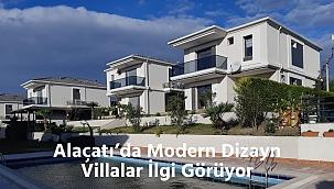 Alaçatı'da Modern Dizayn Villalar İlgi Görüyor