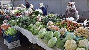 Aliağa'da Organik Köy Ürünlerine Büyük İlgi