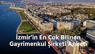 İzmir'in En Çok Bilinen Gayrimenkul Şirketi Anketi