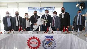 Karşıyaka Personel A.Ş ve DİSK İyileştirme Sözleşmesi İmzaladı