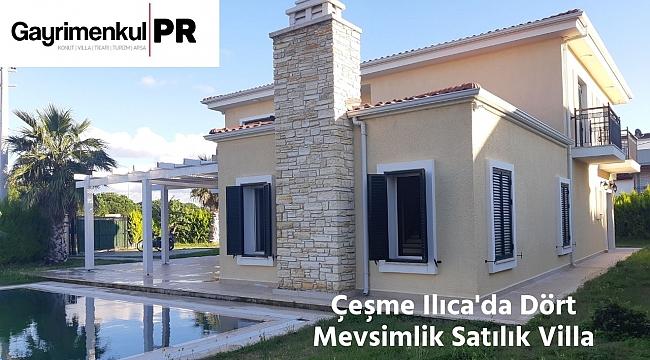 Çeşme Ilıca'da Satılık Süper Lüks Villa