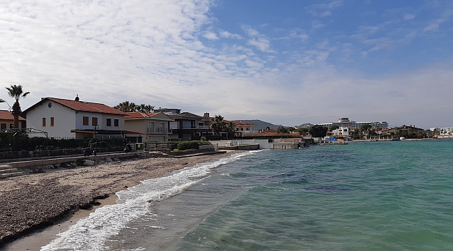 Çeşme Yıldızburnu'nda Denize Sıfır Villa