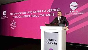 Esiad'ın yeni başkanı Mustafa Karabağlı