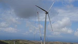 İzmir 1798 Megavat Güçle Rüzgârdan Enerji Üretiyor