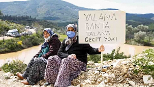 Seferihisarlılar Jeotermal Enerji Santrali'ne karşı