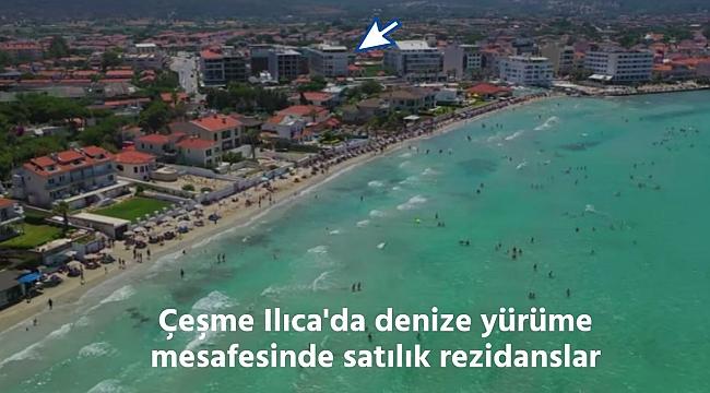 Çeşme Ilıca'da denize yürüme mesafesinde satılık rezidanslar