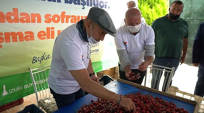Kemalpaşa'da üreticiler ve tarım işçileri bu projede buluşuyor