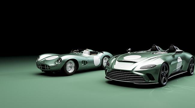 Aston Martın v12 speedster ile buluştu