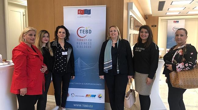 Türk, Yunan ve İspanyol kadın girişimciler İzmir'de bir araya geldi